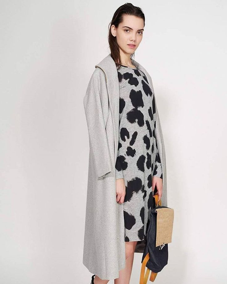 It's warm and grey! And it's on sale! #ozonboutique #ozonstyle #coat #lunar #shop #sale
