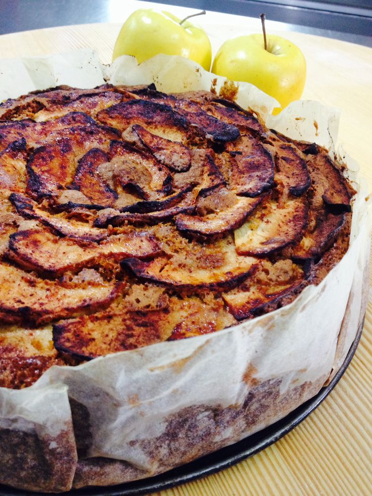 Homemade Apple Cake !!!Taste it with a cup of tea .....Armata Boutique Hotel in Spetses Greece!!!