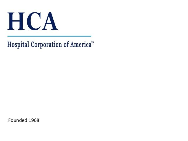 Hospital Corporation of America by Greg Stein