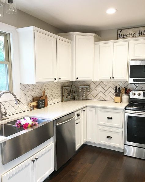 Modern White Kitchen Decor best 25+ modern kitchen decor themes ideas on pinterest | kitchen