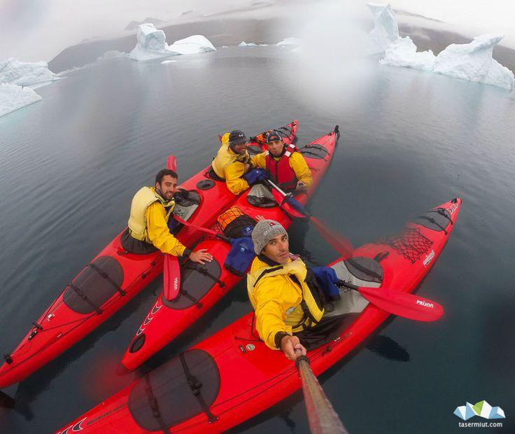 Kayak in Greeland - Photo Felipe Ocaña