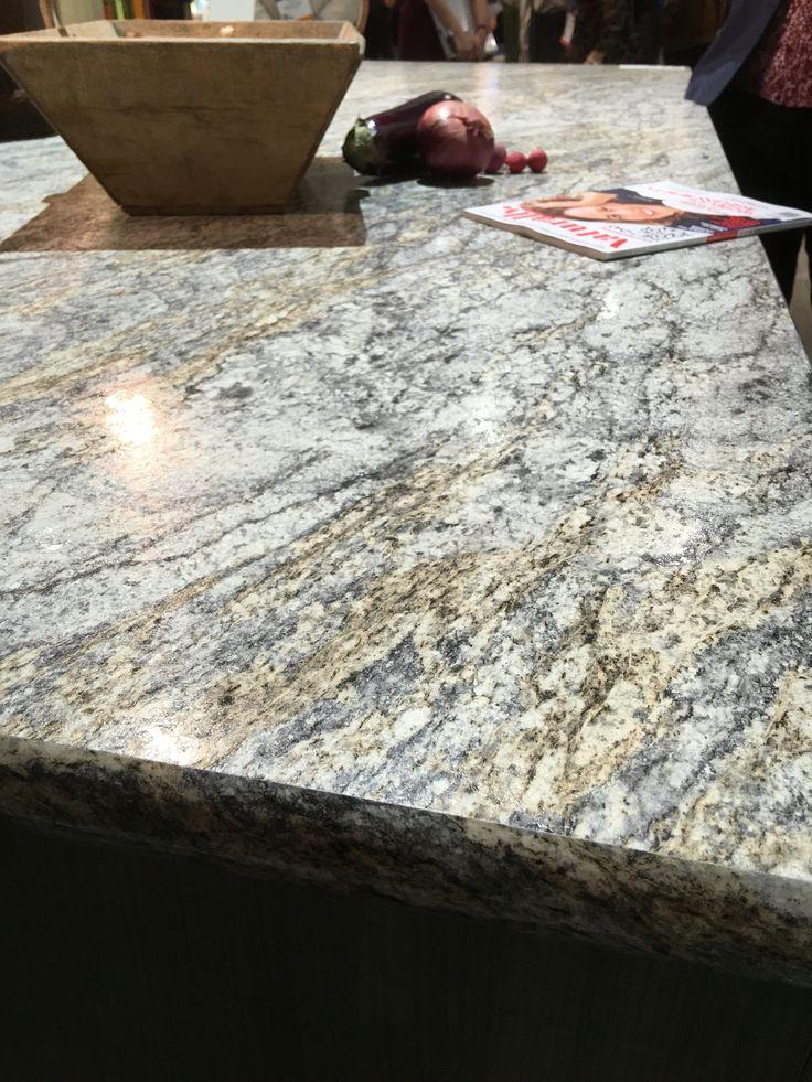 @Wilsonartu0027s Laminate Countertop Features Natural Stone Graphics.  #blogtourkbis
