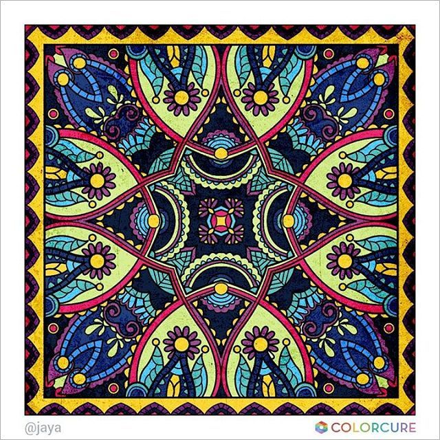 #mandalas #mandalacoloringbook #meditation #graffiti #peace #canvas #wallpainting #pattern #colorcure #carpet #painting #sketch #art #artwork #artist #colorful #beautiful #healing #therapy #coloringappforadults #abstract #impressive #만다라 #색칠공부 #색칠놀이