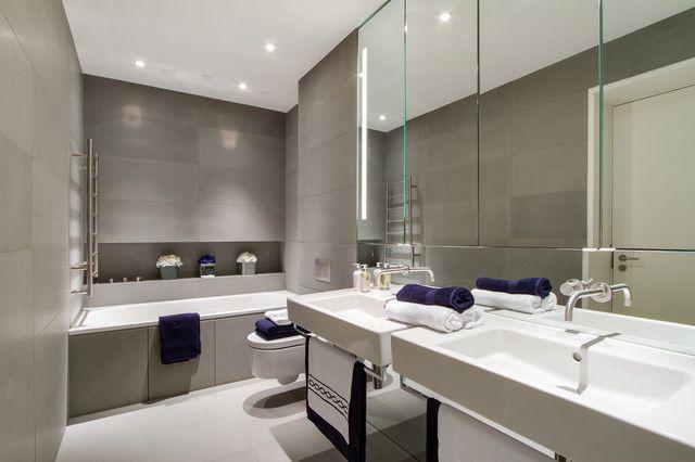 Recessed Shaving Cabinet With Mirror Splash Back Bathrooms