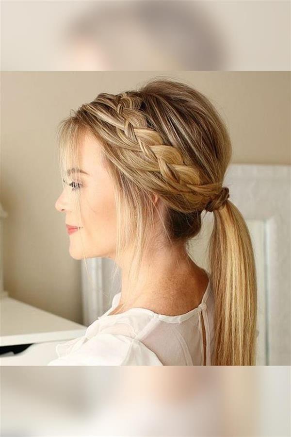 Los 15 peinados con trenzas más bonitos de Pinterest