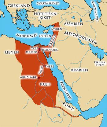 Forntida Egypten bildades ungefär samtidigt som Mesopotamien.