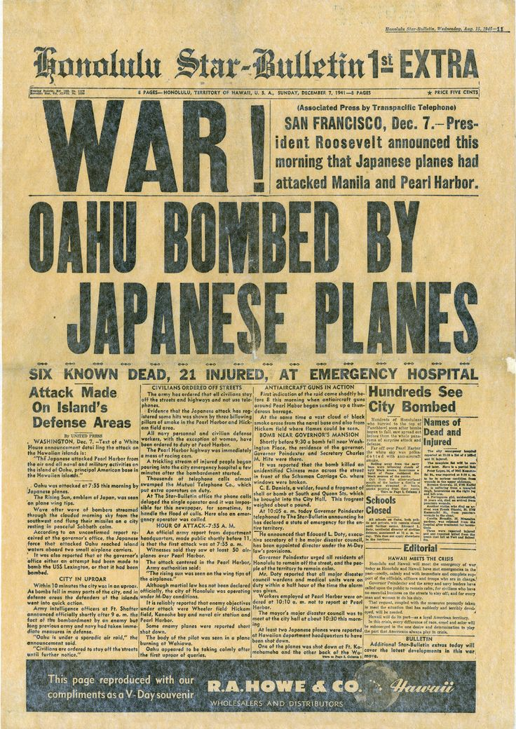 the background of the pearl harbor attack in 1941 In the early morning of dec 7, 1941, the us naval base at pearl harbor, hawaii, was attacked by the japanese militaryat the time, japan's military leaders thought the attack would neutralize american forces, allowing japan to dominate the asia pacific region.