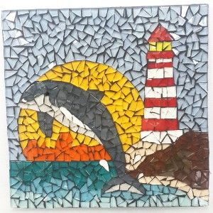 Make this Project- Dolphin and Lighthouse R220.00