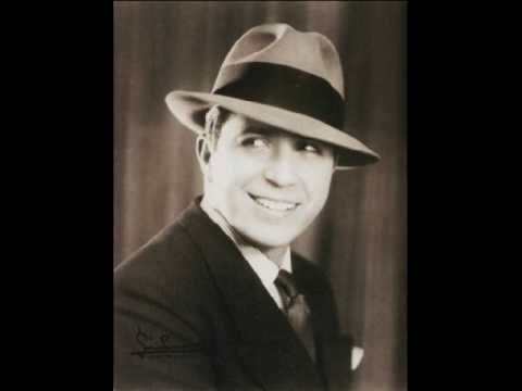 """El Dia que me quieras"""" Himno al Amor. Letra de Alfredo Lepera, poeta brasilero y música de Carlos Gardel."""