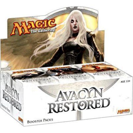 Magic The Gathering Avacyn Restored Booster Box, Multicolor