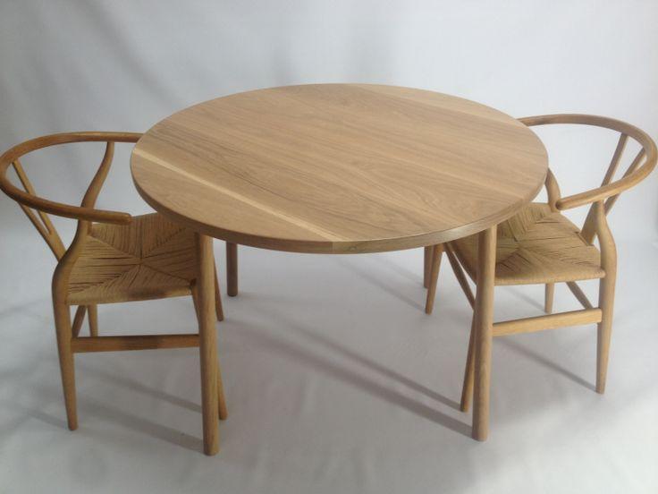 american oak dining table 1100mm .handmade by chris colwell design.bondi design