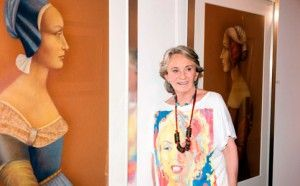 14.7.2014, the Art Gallery of the University of Talca opens with a major exhibition of the outstanding Chilean artist Carmen Aldunate.
