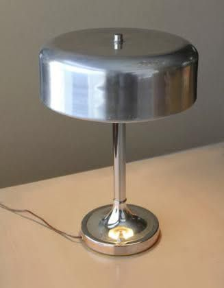 1930's Bauhaus Desk Lamp Attributed to Walter Von Nessen