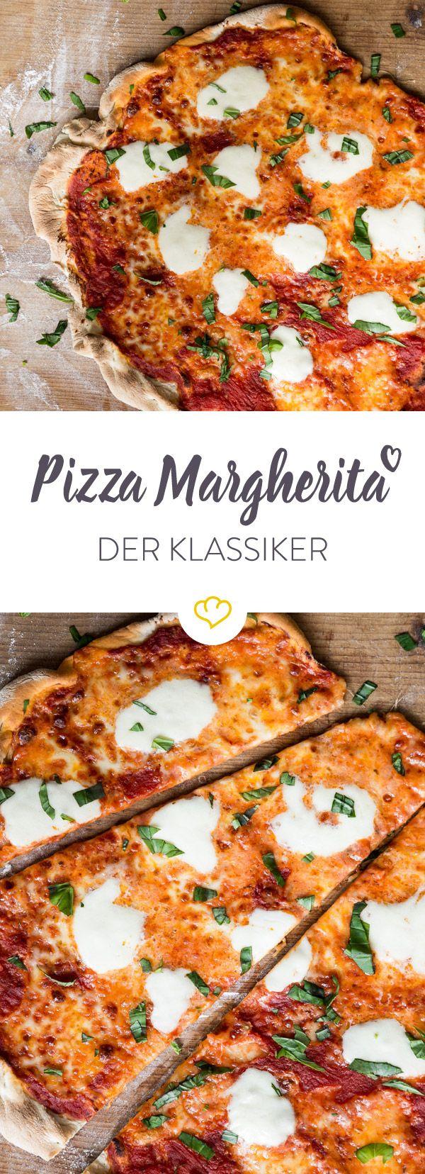 Zeit für die Königin der Pizzen: Keine ist so lange im Geschäft und so beliebt wie die Pizza Margherita. So machst du das Original zuhause.