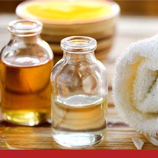 Mit Öle Haarspliss vorbeugen, mildern
