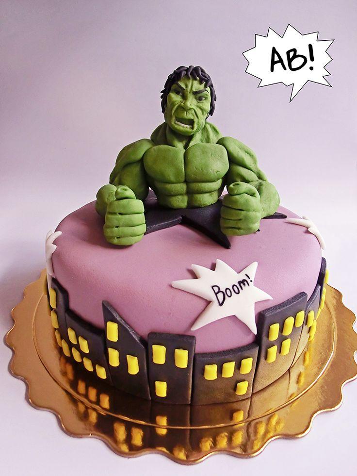 Hulk Cake, Torta Hulk