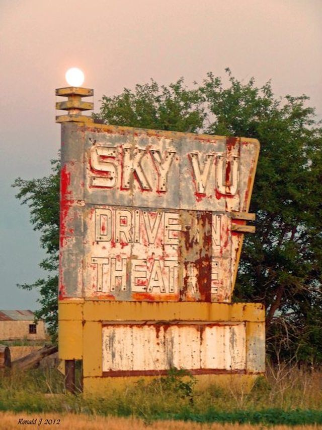 Drive-in movie theaters used to be huge, now a lot of them sit abandoned.