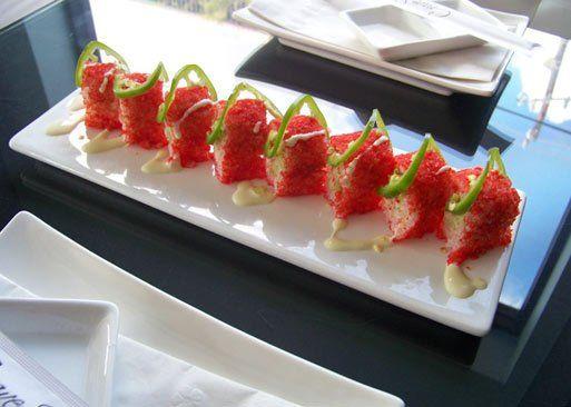 hot cheeto sushi roll