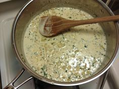 Whiskey Sage Cream Sauce (for butternut squash or pumpkin ravioli)  2 tablespoons butter, 1 medium diced yellow onion, 4-5 minced garlic cloves, 2-3 tablespoons fresh sage- finely chopped, 3-4 tablespoons whiskey, 1 cup heavy cream, salt and pepper to taste