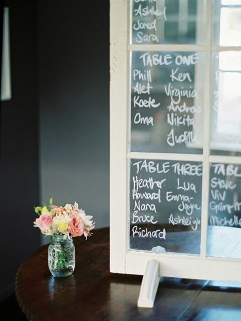Great table plan prop!