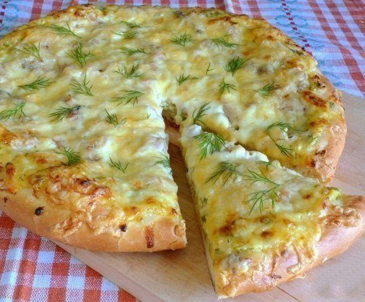 Деревенская пицца - Kurkuma project (Проект Куркума) Тесто получается невероятно пышное и вкусное! Я такую пиццу часто делаю на даче — там она особенно вкусная получается!