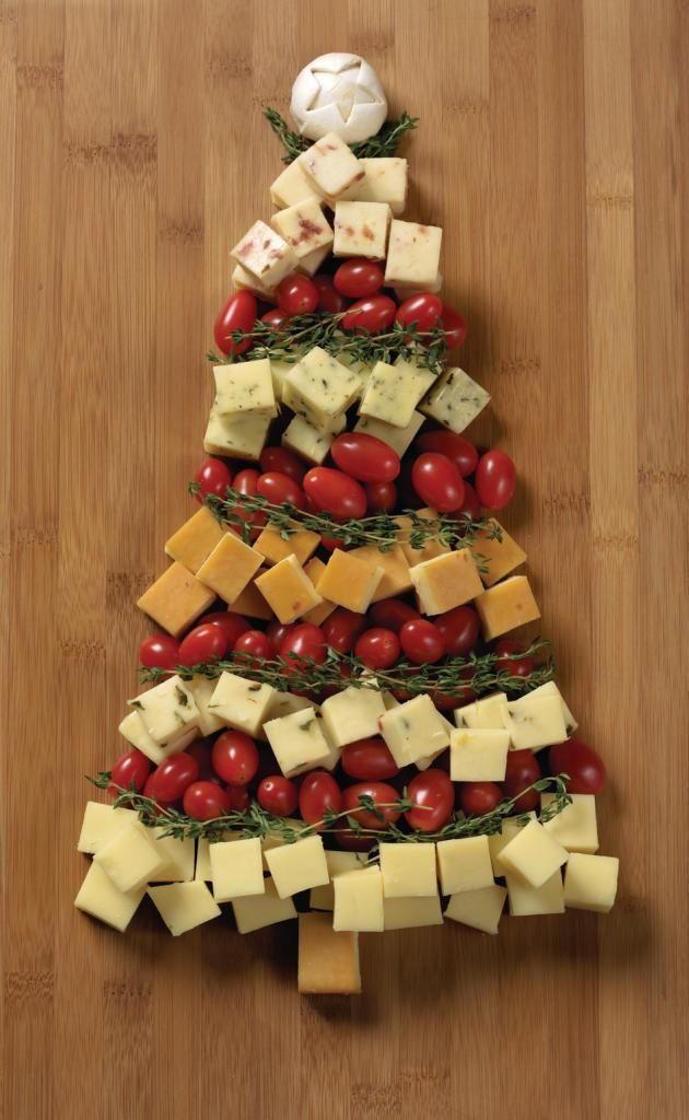 Kerstgerecht: Eetbare kerstboom