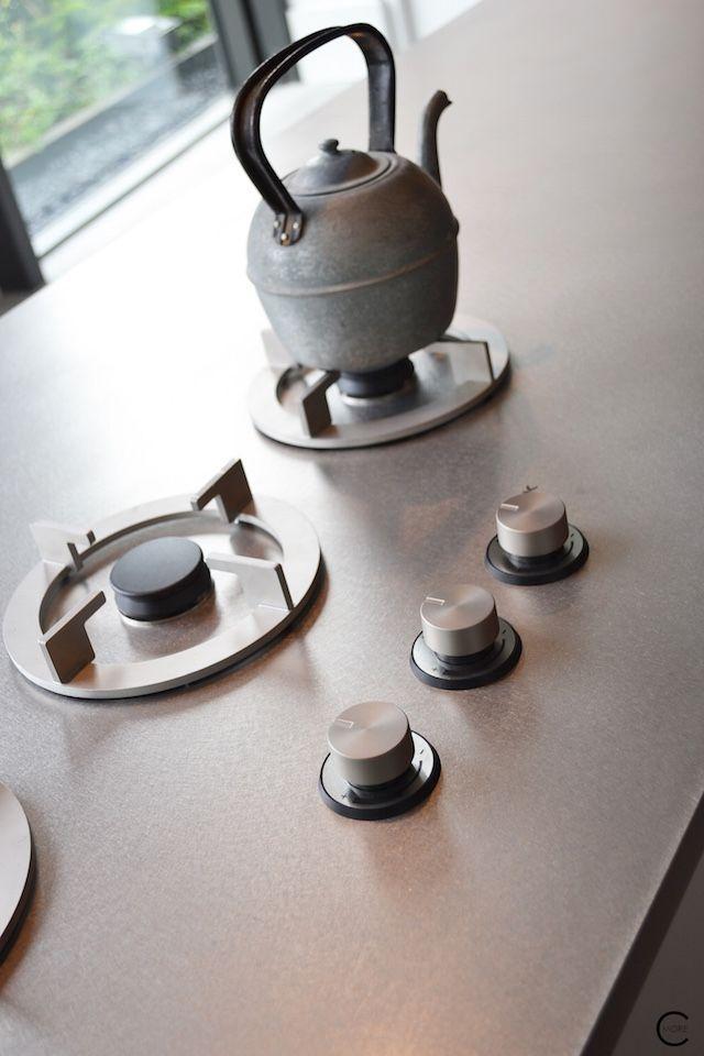 Contemporary kitchen design inspiration bycocoon.com | interior design | inox stainless steel kitchen taps | modern kitchen design | project design & renovations | RVS design keukenkranen | Dutch Designer Brand COCOON || Piet Boon Kitchen photo by C-More 23
