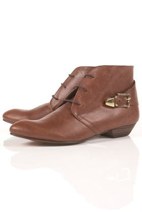 ATTICA Strap Back Ankle Boots    topshop    $135.00