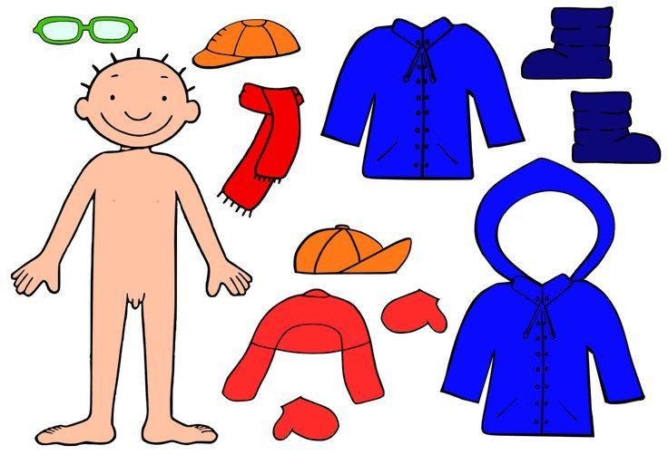 Begeleide of zelfstandige activiteit - Jules aankleden