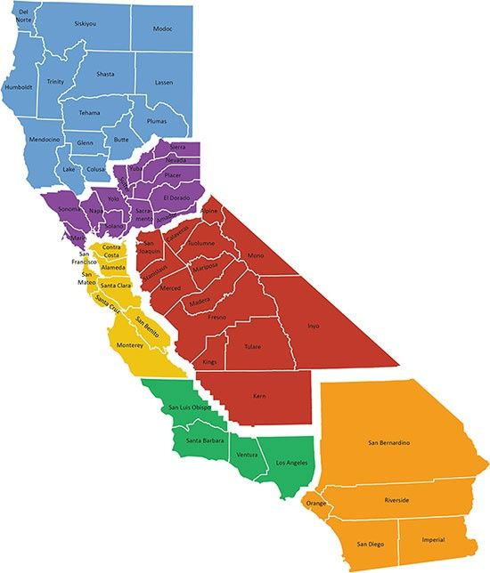 Six Californias, One Super City-State