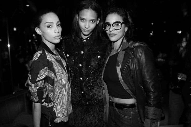The Balmain after-party at Crazy Horse, FW2014, Inès-Loan Rau, Cora Emmanuel and Shy'm