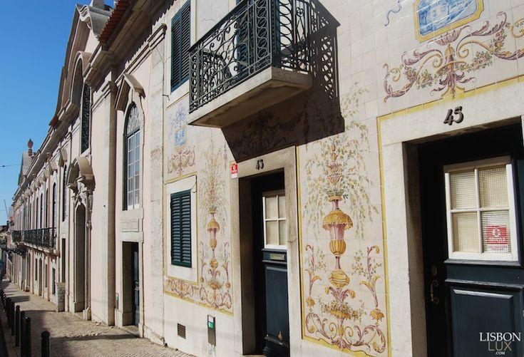 Fachada de Edifício, Rua de São Domingos à Lapa