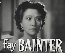 Fay Okell Bainter (December 7, 1893 – April 16, 1968) was an American film and stage actress