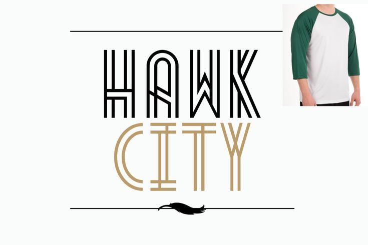 Hawk City t-shirt Design
