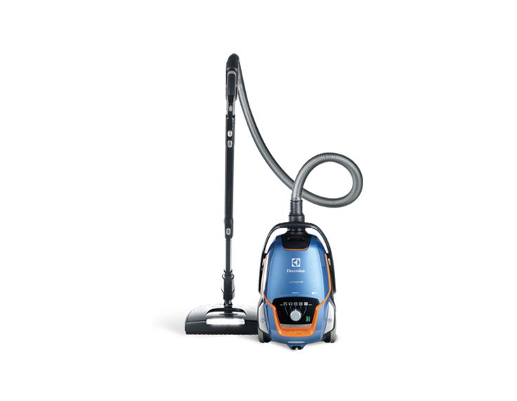 The Electrolux UltraOne Signet EL7083ASG Canister Vacuum is one of the newest and most high grade Electrolux canister vacuums on the market today! With a powerful motor and a power nozzle perfect for cleaning up after pets, this canister vacuum makes cleaning hardwood floors and carpeting a piece of cake!
