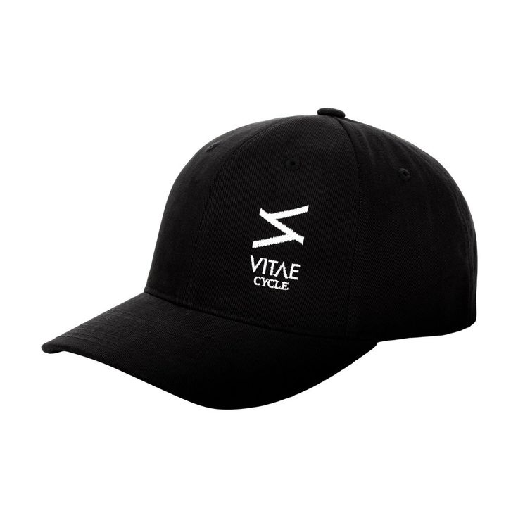"""All Black"" Baseball cap for motorcyclists"