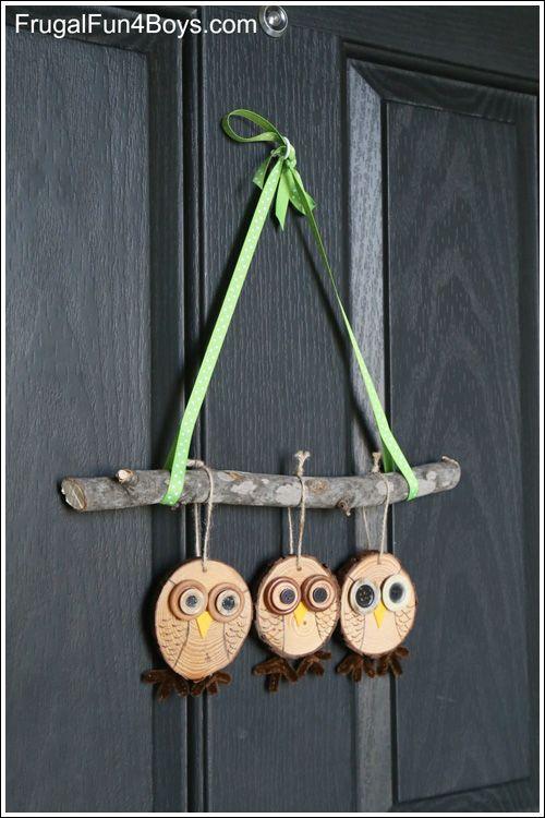My Owl Barn: Owl Tree and Door Hanging Tutorial