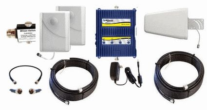 Wilson AG PRO - Quint 70 dB 5-Band Signal Booster Premium Kit