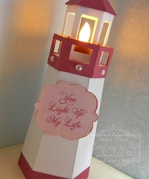 Lovin this lighthouse paper craft crazy pinterest for 3d paper lighthouse template