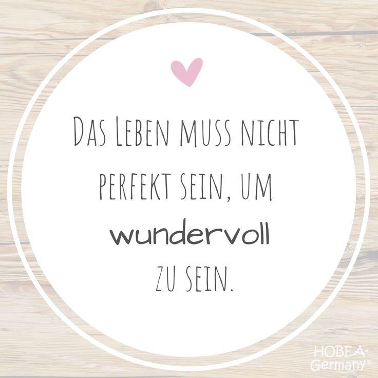 """""""Das Leben muss nicht perfekt sein, um wundervoll zu sein.""""#leben #sprüche #nac…"""