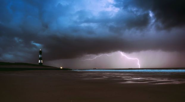 Lighthouse Lightning Sea Ocean Beach Weather Wallpaper Hd Nature 4k Wallpapers Images Photos And Background Beach Weather Sea And Ocean Ocean Beach Stay ahead of the storm with the weather channel app. pinterest