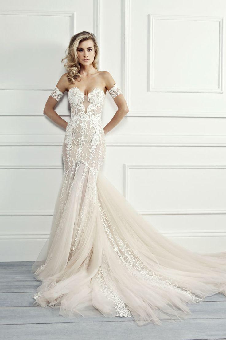 Haute Couture Wedding Dresses by Australia's Pallas Couture www.elegantwedding.ca