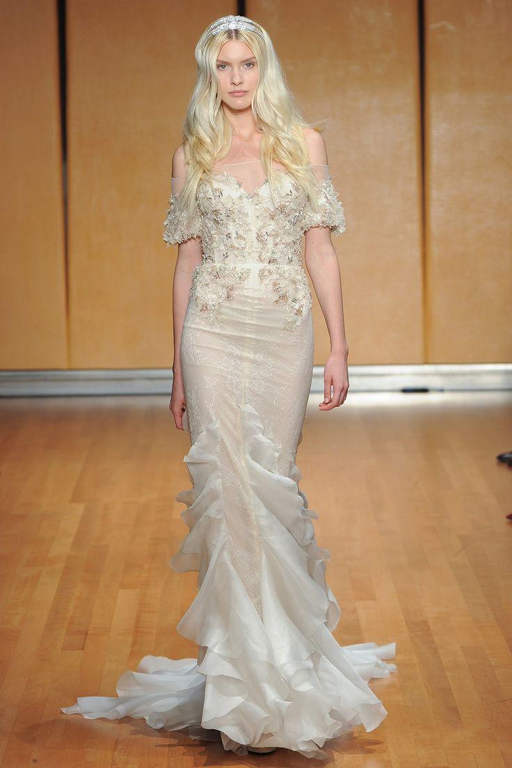 168 best Inbal Dror 2017 Bridal Fashion Week images on Pinterest ...