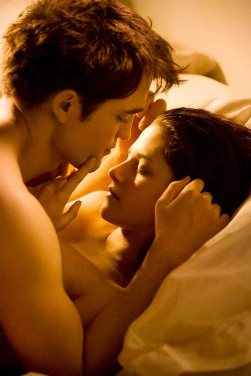 Edward and Bella - Breaking Dawn.