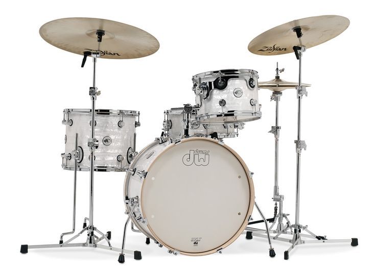 DW Design Series Frequent Flyer 4pc Drum Set | Free Shipping