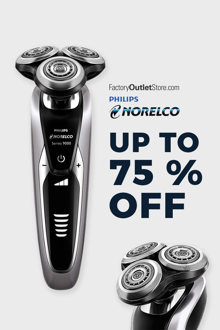 Philips Norelco Men\'s Shavers Sales. Up to 75% Off with Free Same ...