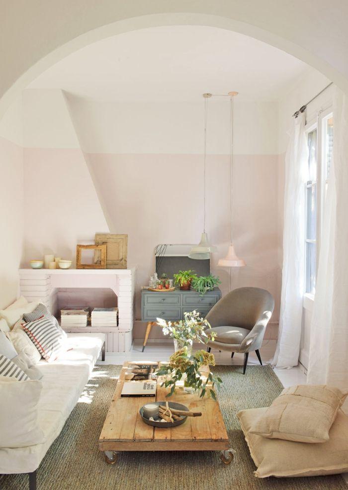 les 25 meilleures id es de la cat gorie rideaux rustiques sur pinterest rideaux faits maison. Black Bedroom Furniture Sets. Home Design Ideas