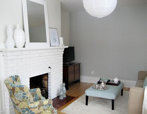 Before After A Dramatic Living Room Makeover