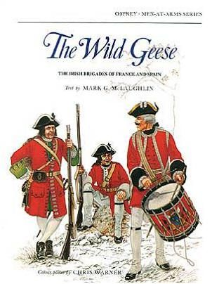 Between 1585 and 1818, over half a million Irish were lured from their homeland by promises of glory, money and honour in a constant emigration romantically styled 'The Flight of the Wild Geese'. Throughout this period, the Irish Brigades in France and Spain participated in conflicts ranging from the wars of the Spanish and the Austrian Successions through to the Napoleonic Wars.