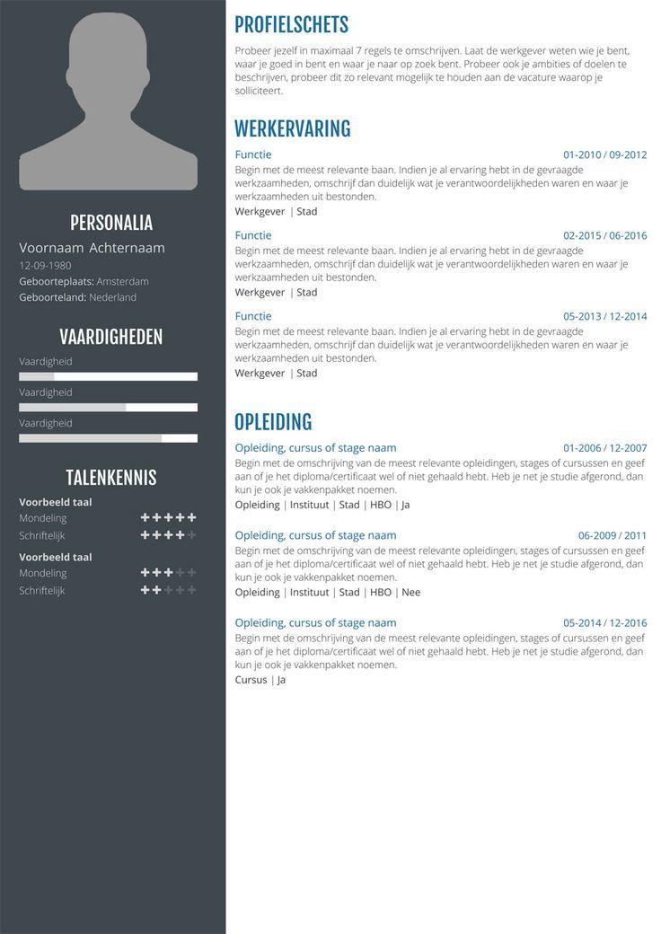 Best 25+ Online cv ideas on Pinterest Online cv template, Font - resume online